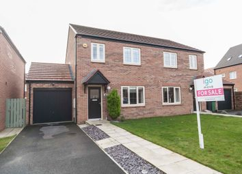 Thumbnail 3 bed semi-detached house for sale in Cranesbill Avenue, Hartlepool