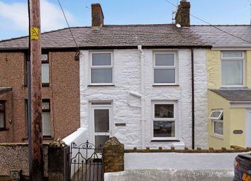 Thumbnail 2 bed terraced house for sale in Station Road, Llanrug, Caernarfon