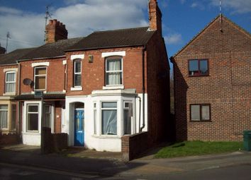 Thumbnail 3 bedroom terraced house to rent in Newton Road, Rushden