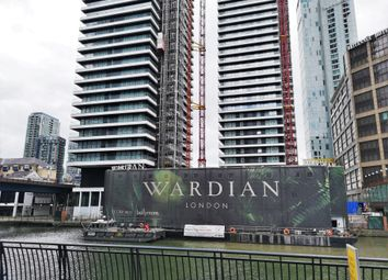 Thumbnail 1 bed flat for sale in Wardian, East Tower, Canary Wharf, London