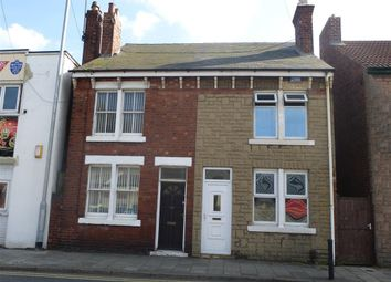 Thumbnail 2 bed semi-detached house to rent in Warsop Road, Mansfield Woodhouse, Mansfield