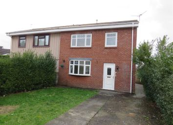 Thumbnail 3 bed semi-detached house to rent in Morawel, Llanelli