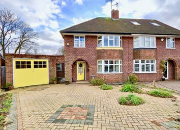 Thumbnail 3 bed semi-detached house for sale in Kent Gardens, Ruislip
