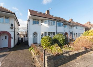 Thumbnail 4 bed semi-detached house to rent in Ashfield Road, Southgate