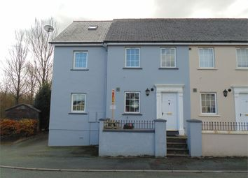 Thumbnail 3 bed end terrace house for sale in Brookside Avenue, Johnston, Haverfordwest, Pembrokeshire