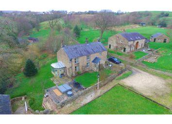 Thumbnail 4 bed farmhouse for sale in Foxen Dole Lane, Burnley