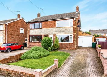 Thumbnail 3 bed semi-detached house for sale in Kirkstall Close, South Anston, Sheffield