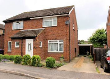 Thumbnail 2 bed semi-detached house for sale in Coleridge Close, Hitchin, Hertfordshire