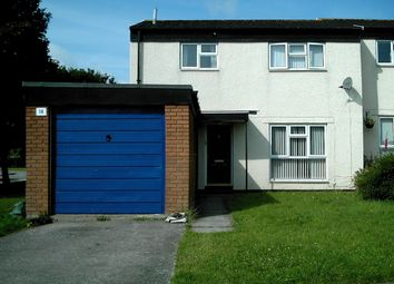 Thumbnail 3 bed semi-detached house to rent in Drake Close, St. Athan
