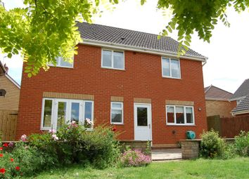 Thumbnail 4 bedroom detached house for sale in Riley Close, Ipswich