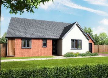 Thumbnail 2 bed detached bungalow for sale in Pound Cottages, Bloomsbury Close, Oulton, Lowestoft