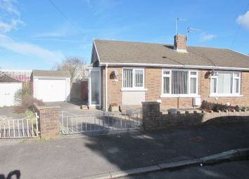 Thumbnail 2 bed semi-detached house for sale in Heol Croesty, Pencoed, Bridgend.