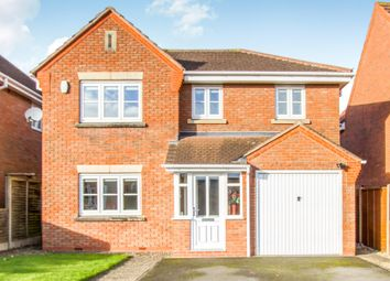Thumbnail 4 bedroom detached house for sale in Huddesford Drive, Balsall Common, Coventry