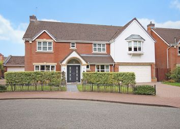 Thumbnail 5 bed detached house for sale in Tresham Drive, Grappenhall Heyes, Warrington