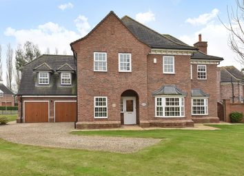 Thumbnail 5 bed detached house for sale in Oak Tree Way, Brandesburton, Driffield