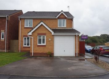 Thumbnail 4 bed detached house for sale in Butterfly Close, Pontypridd
