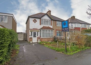 Thumbnail 3 bed semi-detached house for sale in Boscombe Road, Worcester Park
