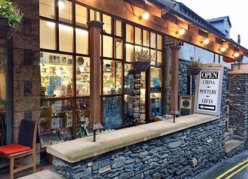 Thumbnail Retail premises for sale in Lakeland Potteries Ltd, St Martin's Parade, Bowness-On-Windermere, Cumbria