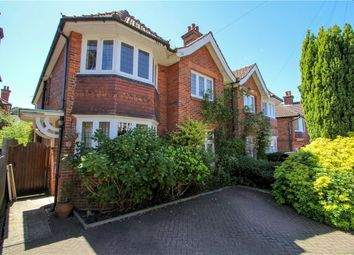 Thumbnail 4 bed semi-detached house for sale in Middle Gordon Road, Camberley, Surrey