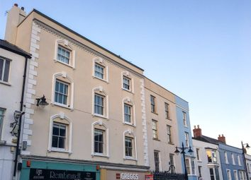 Thumbnail 3 bedroom flat for sale in Flat 2, Gower House, Tudor Square, Tenby
