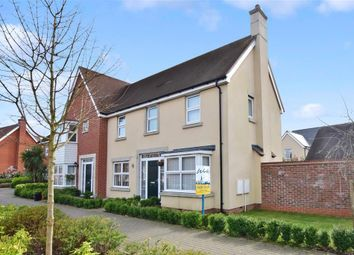 Thumbnail 3 bed semi-detached house for sale in Beacon Avenue, Kings Hill, West Malling, Kent
