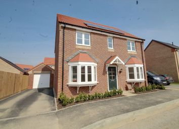 Thumbnail 4 bedroom detached house for sale in The Redcar, Eastrea Road, Whittlesey, Peterborough