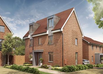 Thumbnail 4 Bedroom Detached House For Sale In Elm At Hedgers Way Kingsnorth