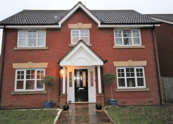Thumbnail 4 bed detached house to rent in Hoveton Way, Hainault