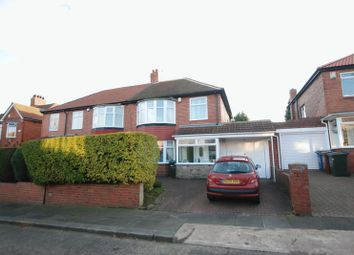Thumbnail 3 bed semi-detached house for sale in The Riding, Kenton, Newcastle Upon Tyne