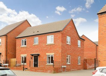 Thumbnail 4 bedroom detached house for sale in Lineton Close, Lawley Village, Telford
