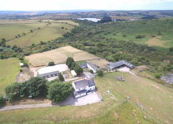 Thumbnail 5 bed equestrian property for sale in Common Moor, Liskeard