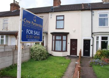 Thumbnail 3 bed terraced house for sale in Lansdowne Terrace, Burton-On-Trent, Staffordshire