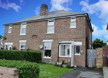 Thumbnail 3 bedroom semi-detached house for sale in Foxholes Road, Oakdale, Poole BH15.