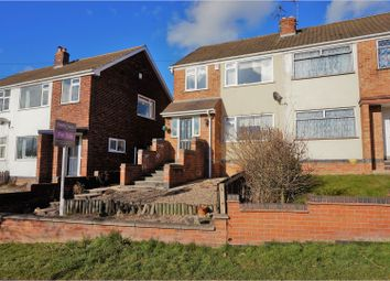 Thumbnail 3 bed semi-detached house for sale in Dominion Road, Glenfield, Leicester