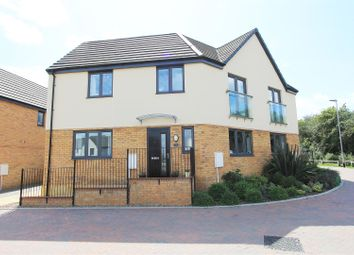 3 bed semi-detached house for sale in Harper Crescent, Gunthorpe, Peterborough PE4