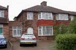 Thumbnail 3 bedroom semi-detached house to rent in Bush Grove, Stanmore