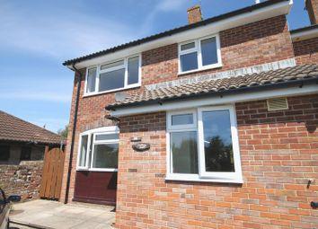 Thumbnail 3 bed semi-detached house to rent in Turberville Road, Bere Regis, Wareham