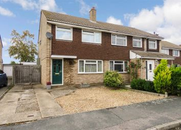 Thumbnail 3 bed semi-detached house for sale in Walnut Tree Close, Bassingbourn, Royston