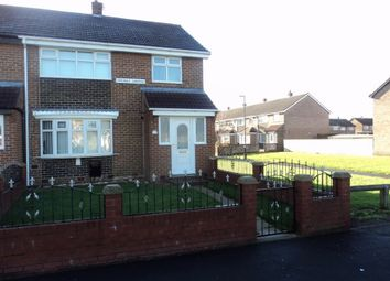 Thumbnail 3 bed end terrace house to rent in Cragdale Gardens, Hetton-Le-Hole, Houghton Le Spring, Tyne And Wear