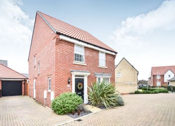 Thumbnail 4 bed detached house for sale in The Poplars, Southminster