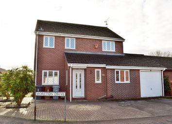 Thumbnail 3 bed detached house for sale in Moreton Drive, Alsager