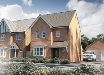 "Thumbnail 4 bed detached house for sale in ""The Waverley"" at Oak Tree Road, Hugglescote, Coalville"
