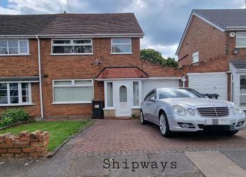 Thumbnail 3 bed property to rent in Yateley Crescent, Great Barr, Birmingham