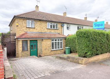 Thumbnail 3 bed end terrace house for sale in Barnstaple Road, Romford
