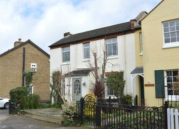 Thumbnail 2 bed end terrace house for sale in Church Walk, Weybridge, Surrey