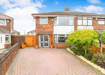 Thumbnail 3 bed semi-detached house for sale in Fieldway, Widnes