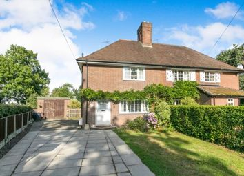 Thumbnail 3 bed semi-detached house for sale in Friars Park Cottage, Station Road, Lea-By-Backford, Chester
