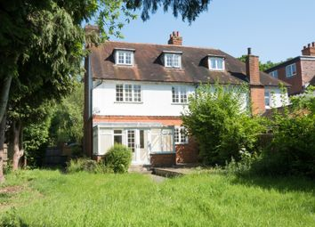 Thumbnail 4 bed semi-detached house to rent in Station Avenue, Walton-On-Thames