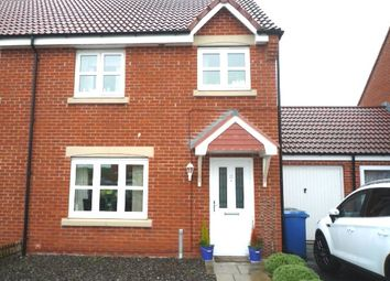 Thumbnail 3 bed semi-detached house to rent in Beachcroft, Hadston, Morpeth, Northumberland