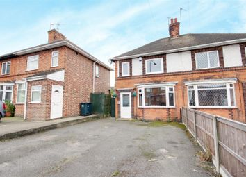 Thumbnail 3 bed semi-detached house for sale in Coppice Road, Arnold, Nottingham